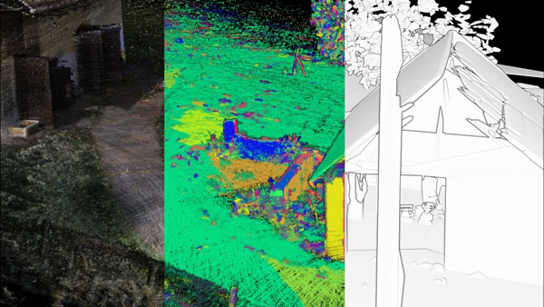 Point Cloud Clustering and Modelling